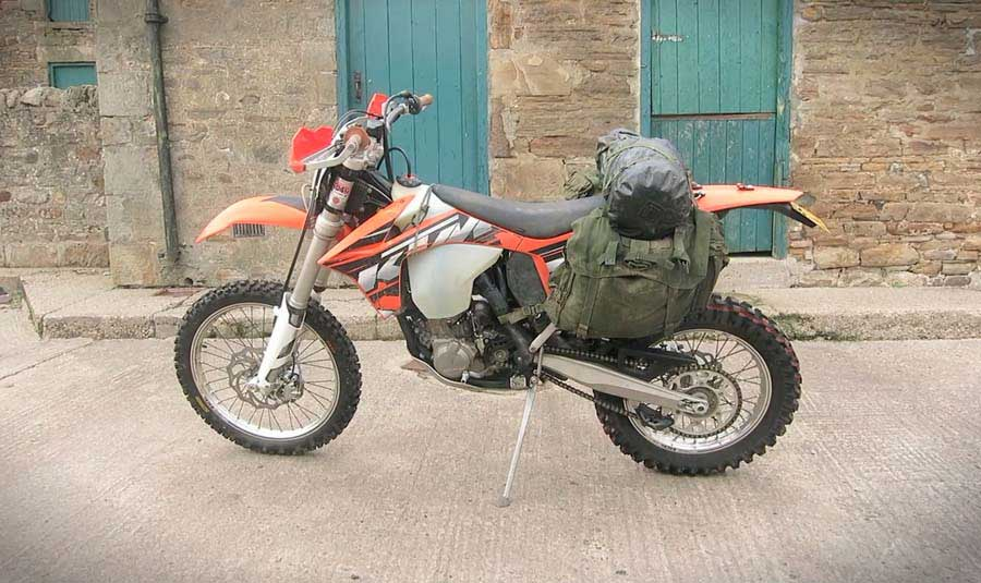 How To Make Your Own Dirt Bike Panniers Trftrf