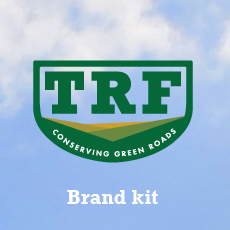 Logos and brand assets suitable for use by TRF members