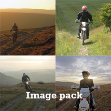 A selection of trail riding images suitable for publication