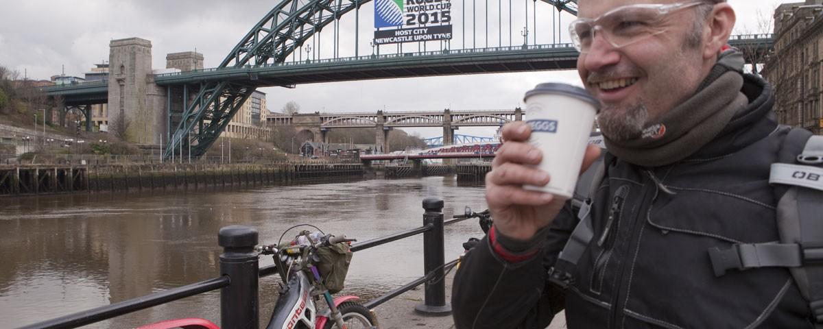 Coast to coast trial - riding across england on a trials bike