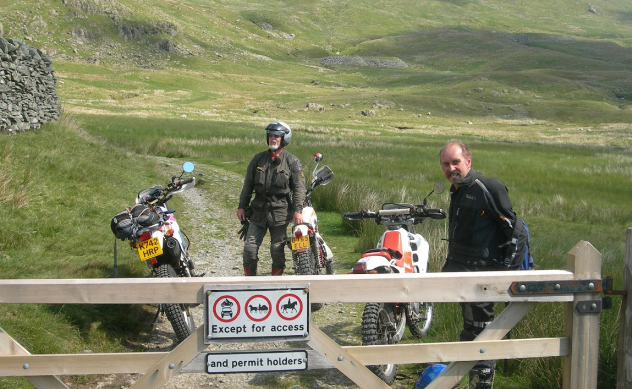 05 Gatescarth can be ridden one day each month with a permit from the Lake District National Park