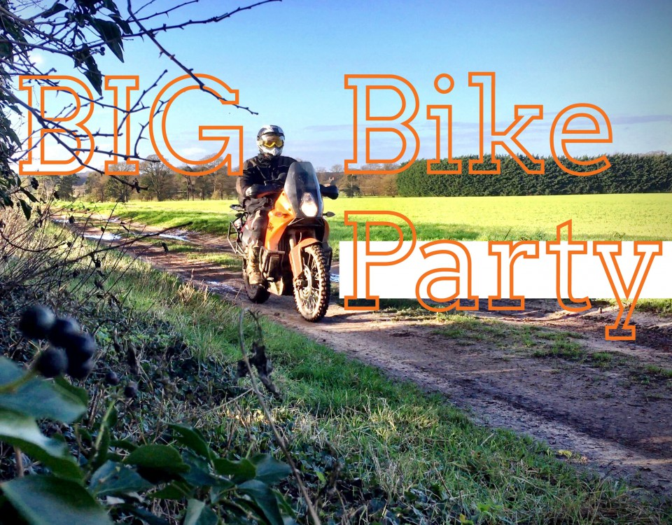 TRF Big Bike Party - ADV trail riding on green lanes