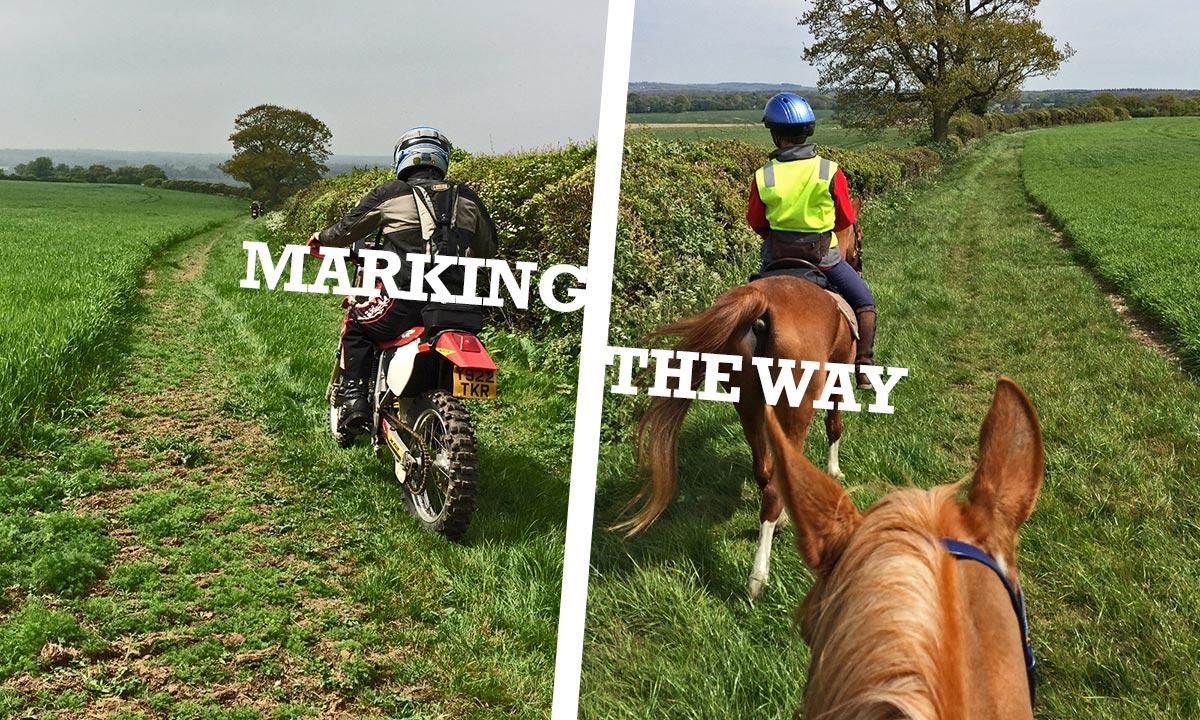 Marking the way